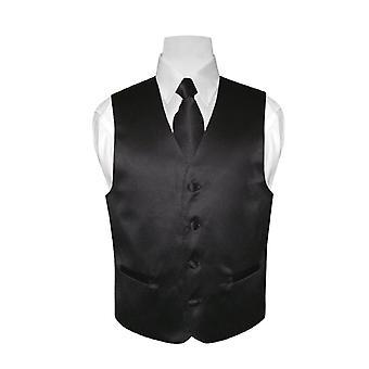 GUTTENS kjole Vest & slips Solid halsen Tie sett
