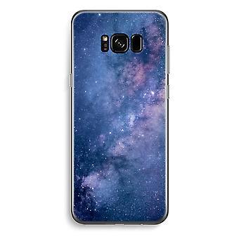 S8 de Samsung Galaxy Plus caja transparente (suave) - Nebulosa