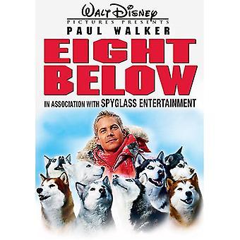 Eight Below [DVD] USA import