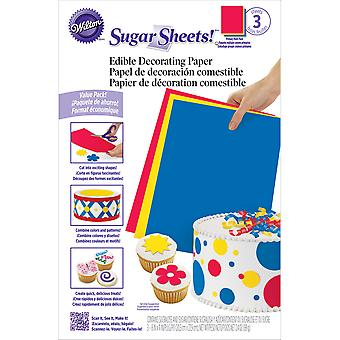 Sugar Sheets Multipack Primary 710 2912