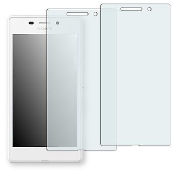 Sony Xperia M2 Aqua screen protector - Golebo crystal clear protection film