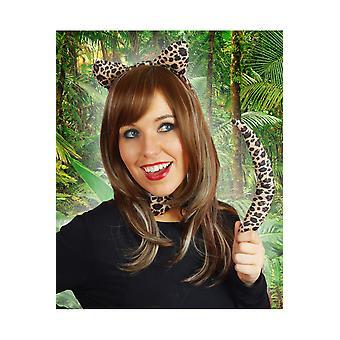 Hair accessories  Leopard set