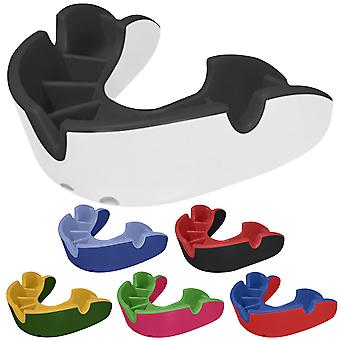 OPRO Adult Silver Level Self-Fit Antimicrobial Mouthguard
