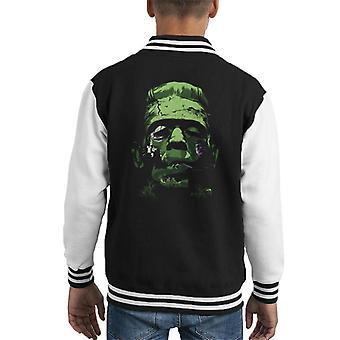 Frankensteins Monster Kid's Varsity Jacket