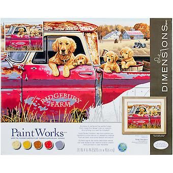 Paint Works Paint By Number Kit 16