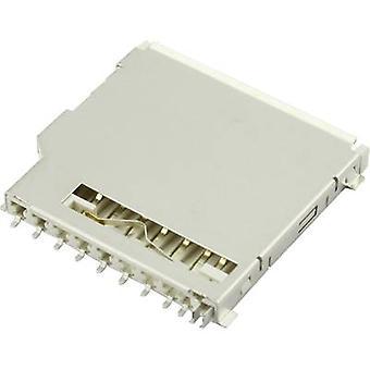 SD Card Connector Push Pull besuchen 104C-TAA0-R 1 PC
