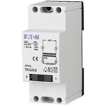 Bell transformer 4 V AC, 8 V AC, 12 V AC 2 A Eaton 272483