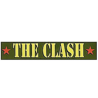 Der Zusammenstoß Armee Logo Vinyl Aufkleber 200 Mm X 40 Mm