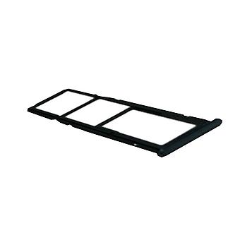 For Huawei Y7 2018 cards Halter SIM tray slide holder black replacement new