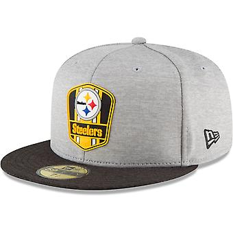 New era 59Fifty Cap - sideline away Pittsburgh Steelers