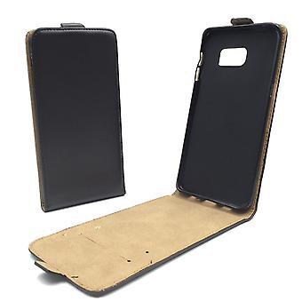 Handyhülle Tasche für Handy Samsung Galaxy S6 Edge Schwarz