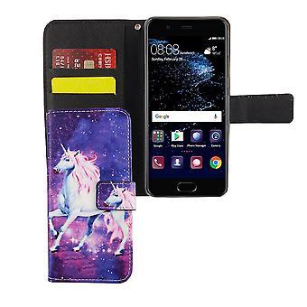 Mobile phone case pochette pour mobile magic Huawei P10 Licorne