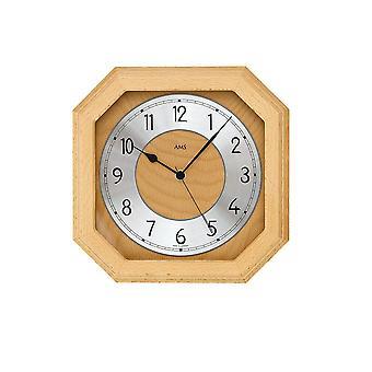 Wall clock radio AMS - 5864/18