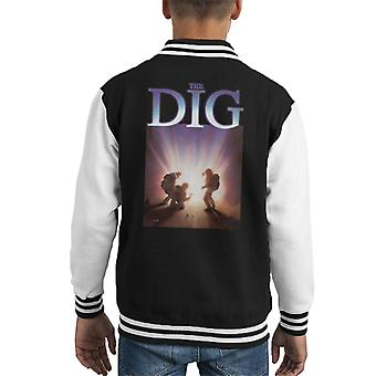 The Dig Game Cover Art Kid's Varsity Jacket