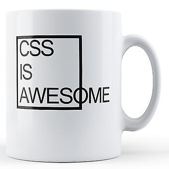 CSS является Awesome - печатных кружка