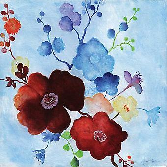 Japanese Garden I Poster Print by Tava Studios