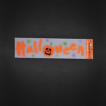 Halloween Jelly door raam