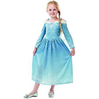ELSA frozen OLAF BB´s aventura clásico Disney kinder traje vestido chicas carnaval princesa hada ice Queen
