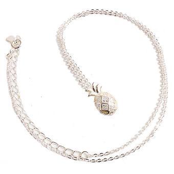 Kaytie Wu Pineapple Pendant - Silver