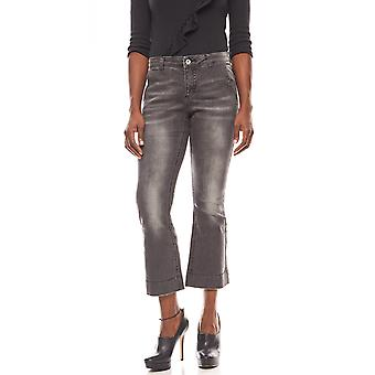 B.C.. best connections shortened ladies of Flared jeans black