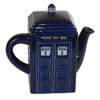 Doctor Who Teekanne Tardis aus Keramik Farbe: Blau.