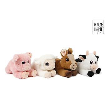 Take Me Home plush farm animal 20 cm
