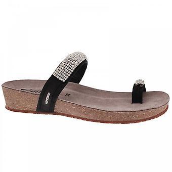 Mephisto Women's Diamante Strap Toe Post Sandal