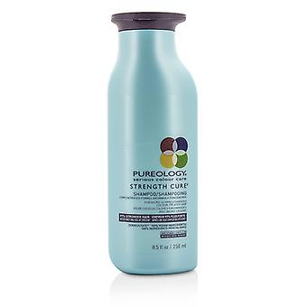 Pureology Strength Cure Shampoo (For Micro-Scarred/ Damaged Colour-Treated Hair) 250ml/8.5oz