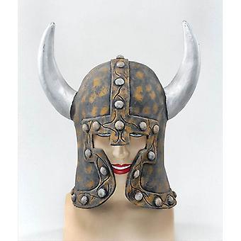 Helm van de strijder-stijl & hoorns.