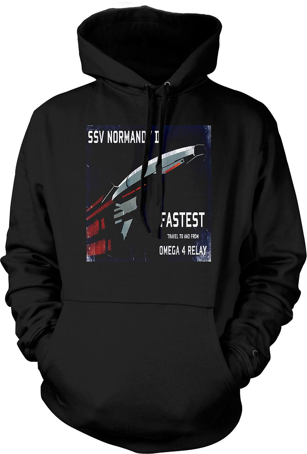 Mens Hoodie - Mass Effect Ssv Normandy II
