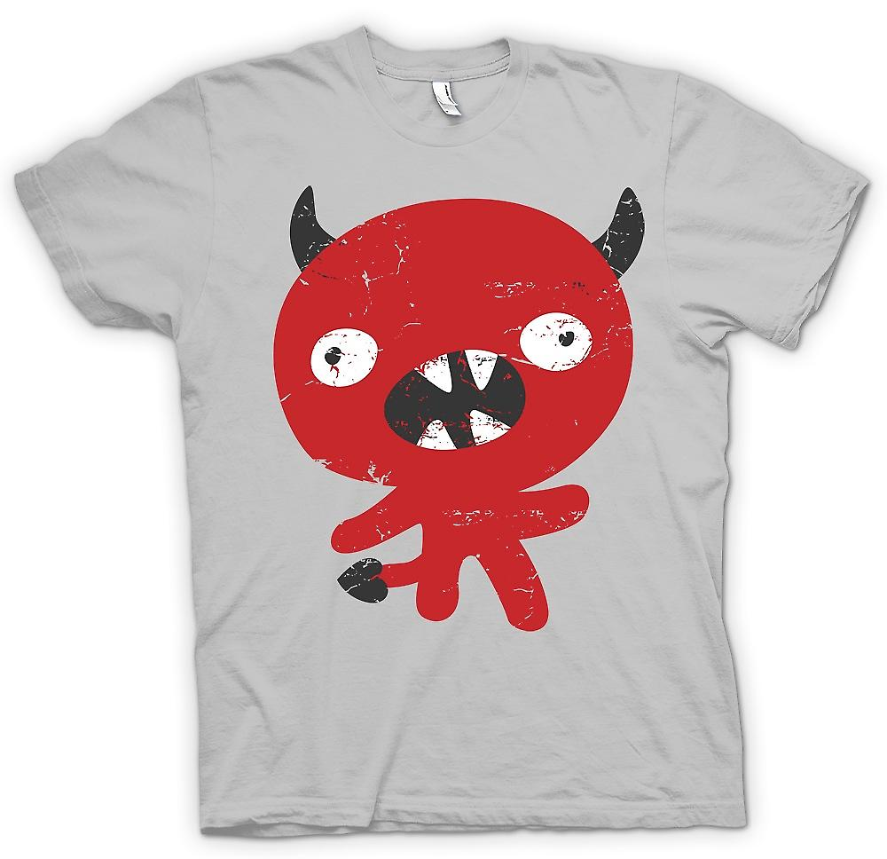 Mens T-shirt-mignon diable Cartoon - drôle