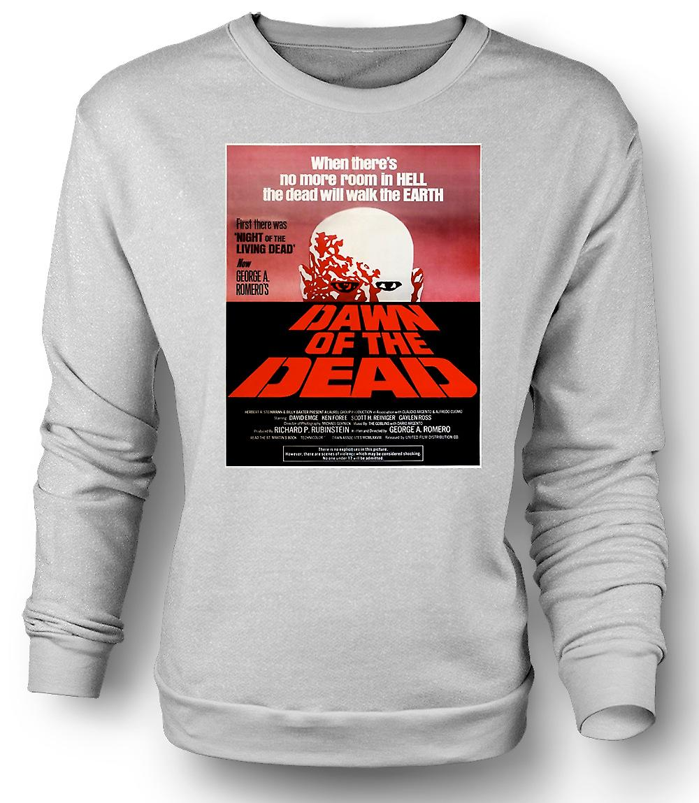 Mens Sweatshirt Dawn Of The Dead Romero - Poster