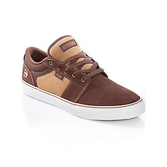 Etnies Brown-Tan Barge LS Shoe