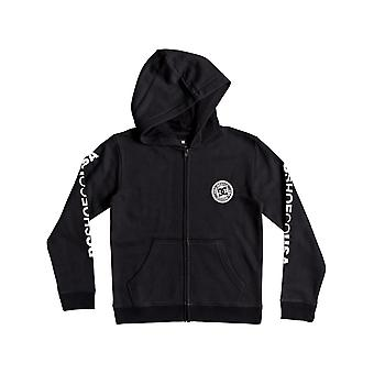 DC Black Circle Star barn Zip Hoody