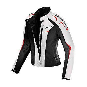 Spidi Black-White Sport H2Out Womens Motorcycle Waterproof Jacket