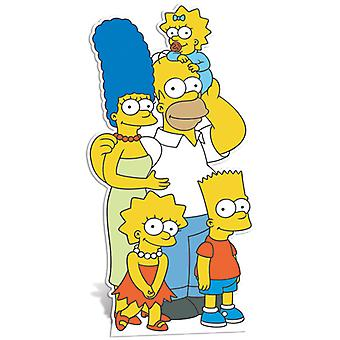 The Simpsons Family Lifesize Cardboard Cutout / Standee