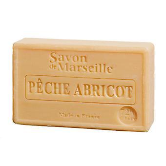Savon de Marseille Le Chaterlard - perzik abrikoos - gevoelige fruitige geur voor een fluweelzachte huid gevoel van 100 g