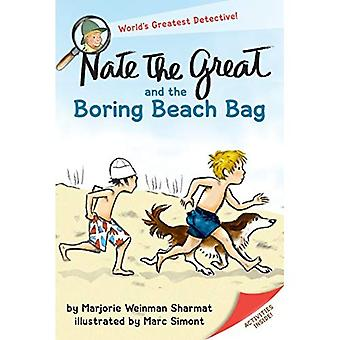 Nate the Great and the Boring Beach Bag (Nate the Great Detective Stories)