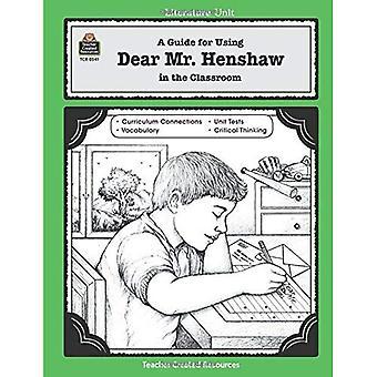 Dear Mr. Henshaw [Teacher Manual]