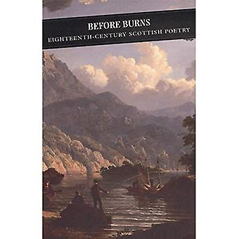 Avant Burns: XVIIIe siècle poésie écossaise
