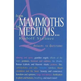 From Mammoths to Mediums...: Answers to Questions