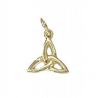 9ct Gold 11x11mm Celtic Trinity knot Pendant