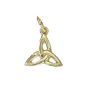 9ct Gold 11x11mm Celtic Trinity knot Pendant