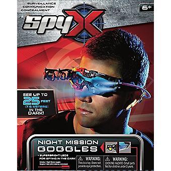 SpyX 10300 Night Mission Goggles, Black