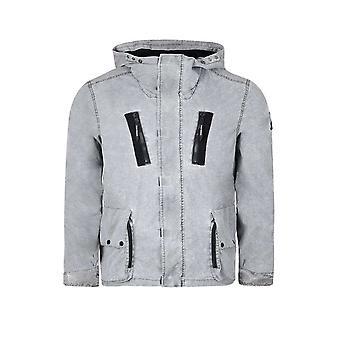 マーシャル アーティスト ウォッシュ グレーのフラグメント処理のジャケット