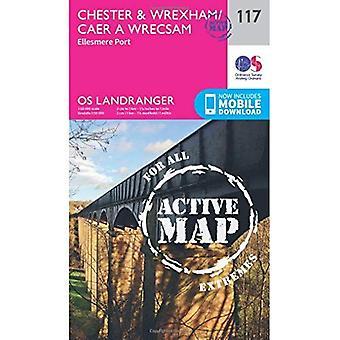 Chester & Wrexham, Ellesmere Port (OS mapa de Landranger)