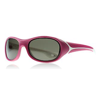 Cebe Junior Flipper Age 2-5 Years 1500 Raspberry Flipper Age 2-5 Years Wrap Sunglasses Lens Category 3 Size 61mm