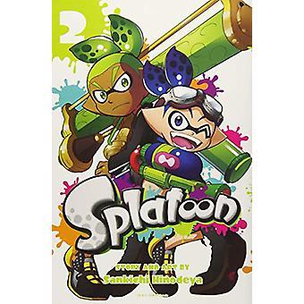 Splatoon - Vol. 2 by Sankichi Hinodeya - 9781421597683 Book
