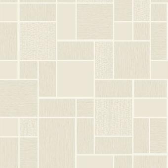 Cream Beige 3D Effect Tile Wallpaper Glitter Shimmer Kitchen Bathroom Vinyl