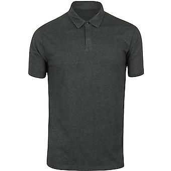 RVCA Mens VA Sport Sure Thing Polo Shirt - Heather Charcoal